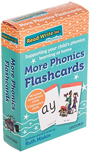Read Write Inc. Phonics: More Phonics Flashcards from OUP Oxford