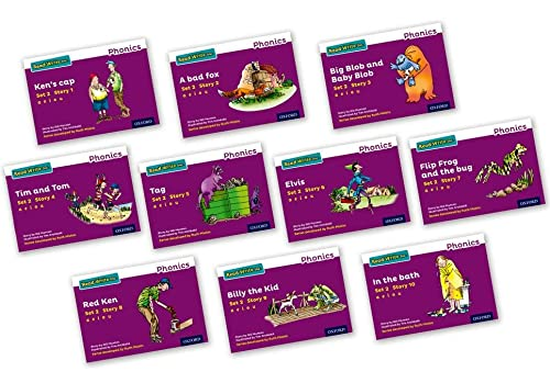 Read Write Inc. Phonics: Purple Set 2 Storybooks Mixed Pack of 10 from OUP Oxford