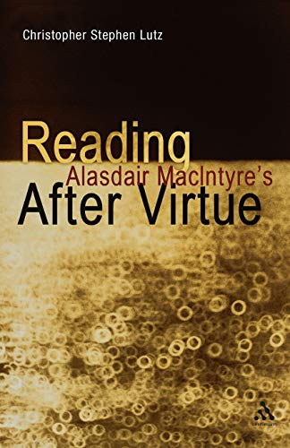 Reading Alasdair MacIntyre's After Virtue from Bloomsbury 3PL