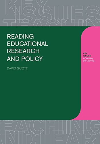 Reading Educational Research and Policy (Learning About Teaching) from Routledge Falmer