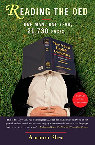 Reading the OED: One Man, One Year, 21,730 Pages from Tarcherperigee