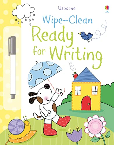 Ready for Writing (Usborne Wipe Clean Books): 1 from Usborne Publishing Ltd