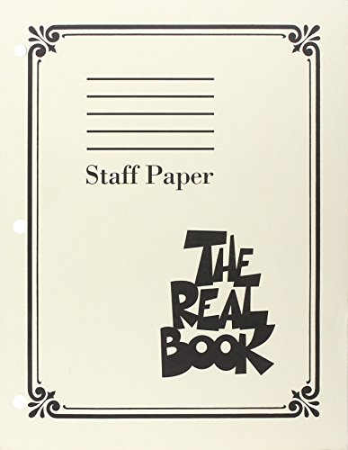 Real Book Manuscript Paper from Hal Leonard