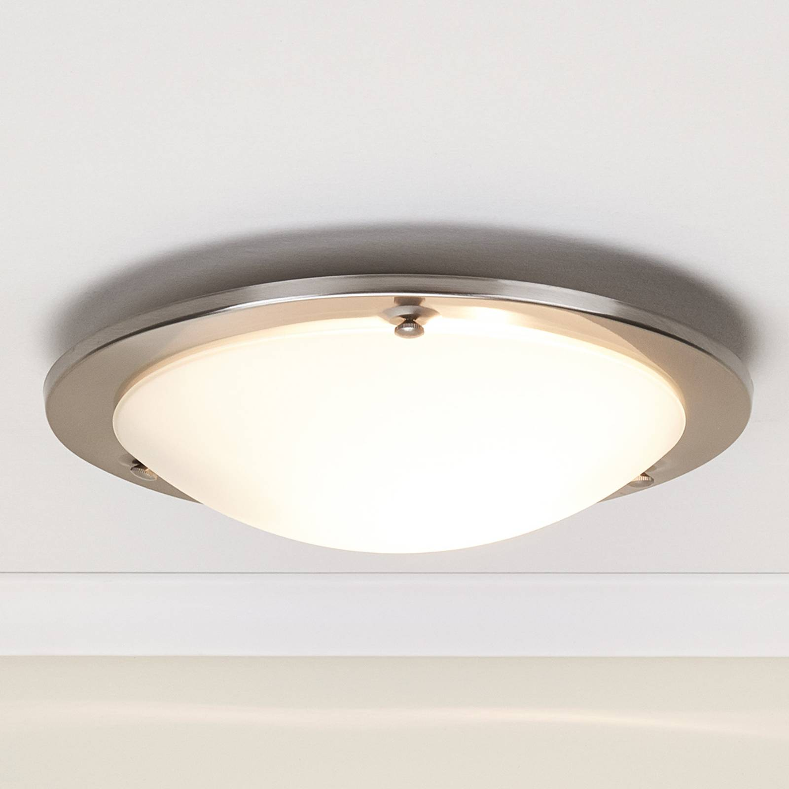 Rebecca Metal-Edged Ceiling Lamp from Lindby