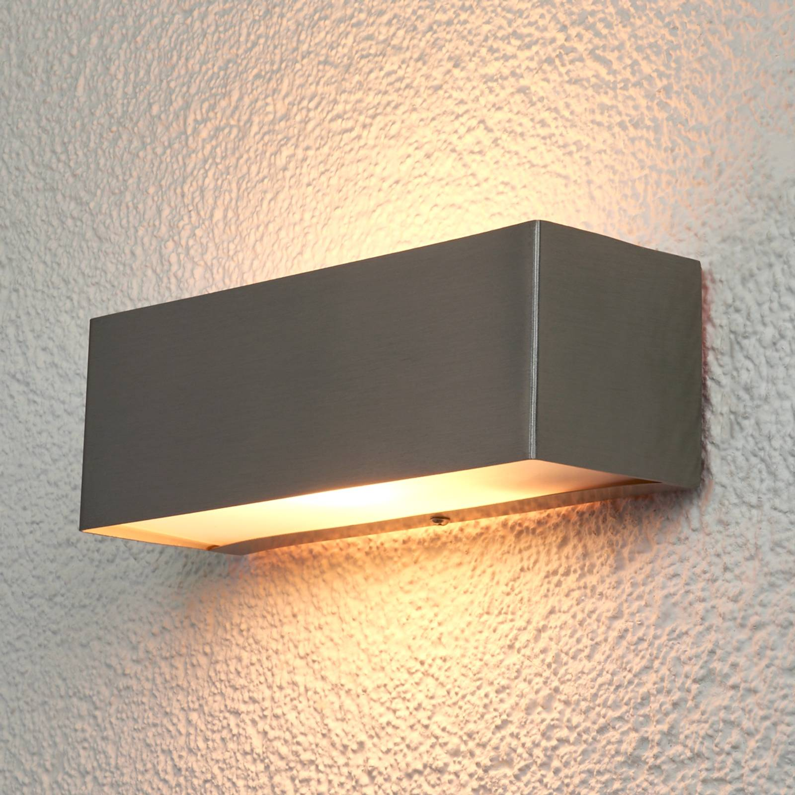 Rectangular wall lamp Alicia for outdoors from Lindby