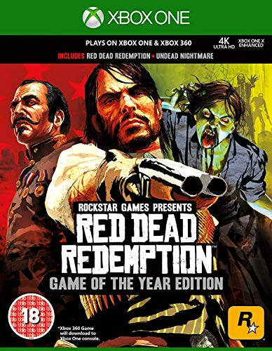 Red Dead Redemption Game of the Year (Classics) (Xbox 360)(Xbox One Compatible) from ROCKSTAR
