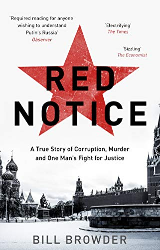 Red Notice: How I Became Putin's No. 1 Enemy from Corgi Books