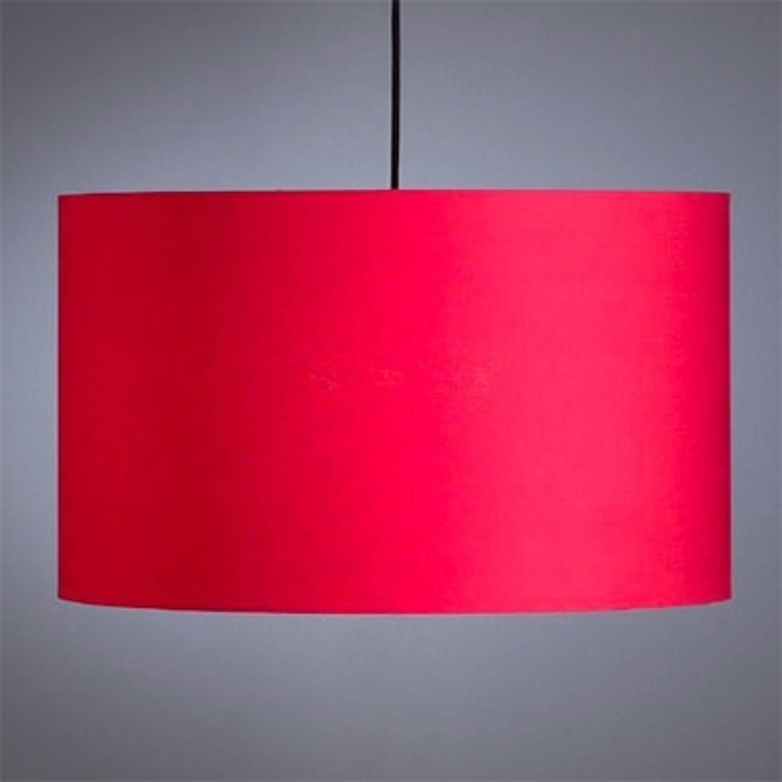 Red pendant light by Schnepel from Tecnolumen