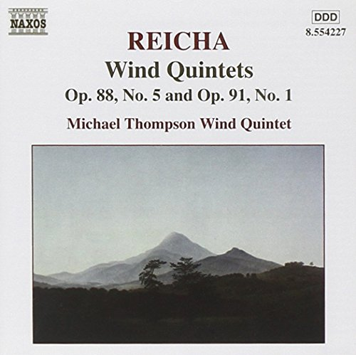 Reicha: Wind Quintets, Op 88 No 5 and Op 99 No 1
