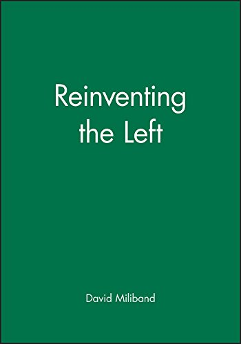 Reinventing the Left from Polity Press