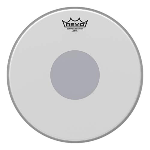 "Remo Batter, CONTROLLED SOUND®, Coated, 13"" Diameter, BLACK DOT(TM) On Bottom from REMO"