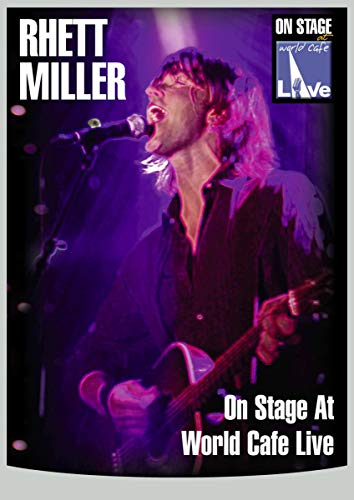 Rhett Miller - On Stage At World Cafe Live [DVD] from Inakustik
