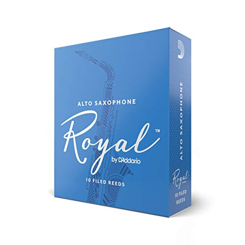 Rico Royal 1.5 Strength Reeds for Alto Sax (Pack of 10) from Rico