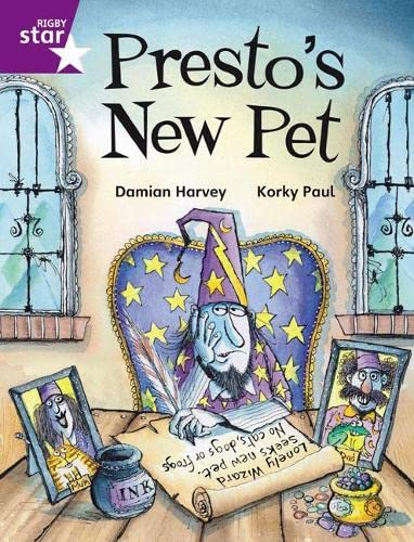 Rigby Star Independent Purple Reader 2 Presto's New Pet from Rigby