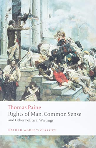 Rights of Man, Common Sense, and Other Political Writings (Oxford World's Classics) from OUP Oxford