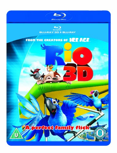 Rio (Blu-ray 3D + Blu-ray) from 20th Century Fox Home Entertainment