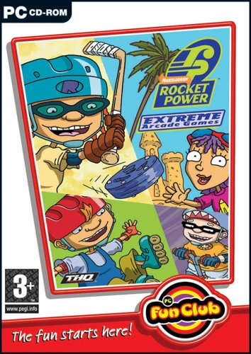 Rocket Power Exreme Arcade Games from FOCUS MULTIMEDIA
