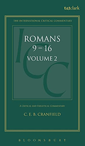 Romans: 2 (International Critical Commentary) from T.& T.Clark Ltd