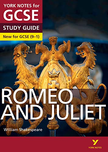 Romeo and Juliet: York Notes for GCSE (9-1) from Pearson Education Limited