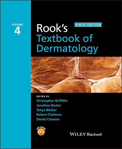 Rook's Textbook of Dermatology: 4 Volume Set from John Wiley & Sons Inc