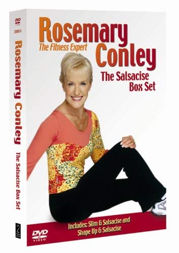 Rosemary Conley - The Salsacise Box Set: Slim 'N' Salsacise / Shape Up and Salsacise [DVD] from 2entertain