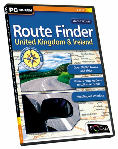 Route Finder UK & Ireland Third Edition from Focus Multimedia Ltd