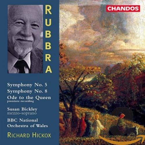 Rubbra: Symphonies 5 & 8/Ode to the Queen from CHANDOS GROUP