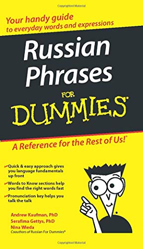 Russian Phrases For Dummies from For Dummies