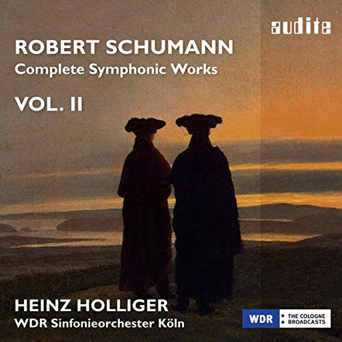 SCHUMANN: COMPLETE SYMPHONIC WORKS VOL.2 from AUDITE