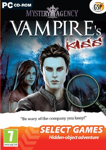 SELECT GAMES: Mystery Agency: A Vampire's Kiss (PC DVD) from Avanquest Software