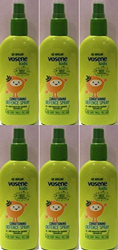 SIX PACKS of Vosene Kids Conditioning Defence Spray 150ml