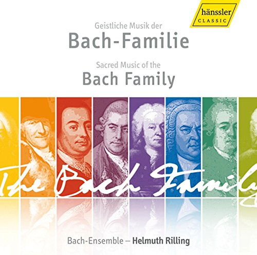 Sacred Music of the Bach Family from HANSSLER CLASSIC