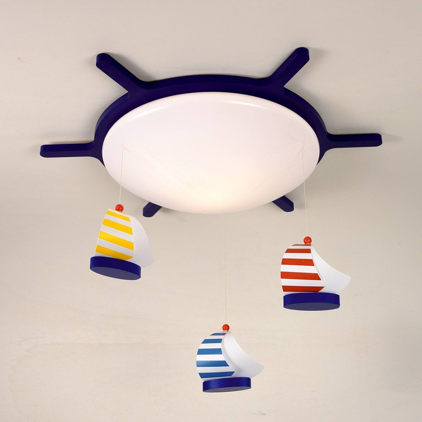 Sailing Boats ceiling light with a boat design from Niermann Standby