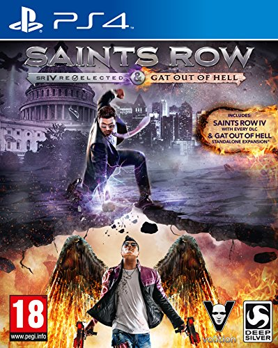 Saints Row IV Re-Elected and Saints Row: Gat Out of Hell (PS4) from Deep Silver