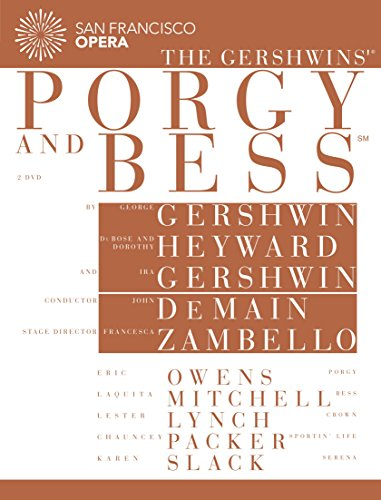 San Francisco Opera: The Gershwins' Porgy and Bess [DVD] [2014] [NTSC] from EuroArts