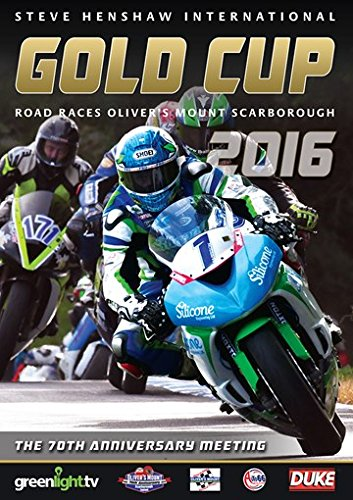 Scarborough International Gold Cup Road Races 2016 [DVD] from Duke Marketing