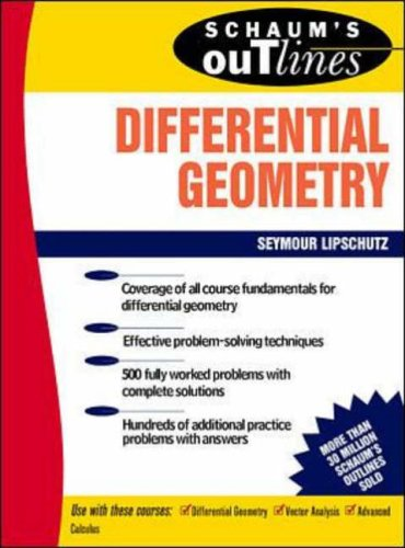Schaum's Outline of Differential Geometry (Schaum's Outline Series) from McGraw-Hill Education