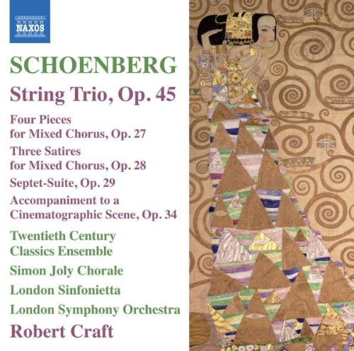 Schoenberg: String Trio op. 45, Four Pieces for Mixed Chorus