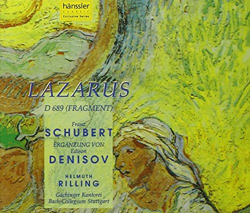 Schubert (cpted Denisov) - Lazarus from HANSSLER CLASSIC