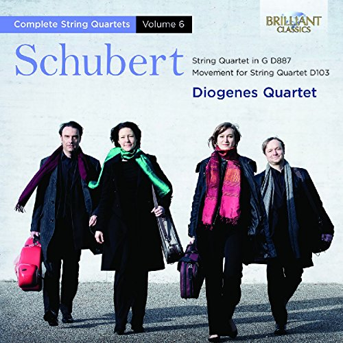 Schubert: String Quartets Vol.6 from BRILLIANT CLASSICS