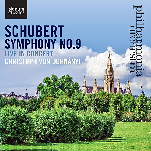 Schubert: Symphony No. 9, Live in Concert from SIGNUM CLASSICS