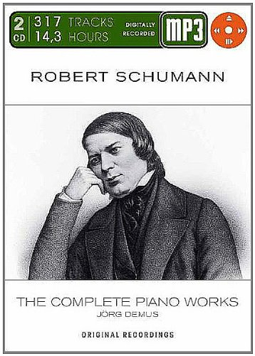 Schumann: Complete Piano Works from Phantom Sound & Vision