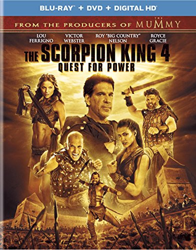 Scorpion King 4: Quest for Power [Blu-ray] [2015] [US Import] from Universal Studios