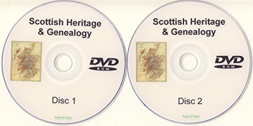 Scottish Genealogy DVD-ROM 2 Disc Set of PDF eBooks Heritage Family Tree Trace Your Ancestors Ancestry from Premium Pro Products