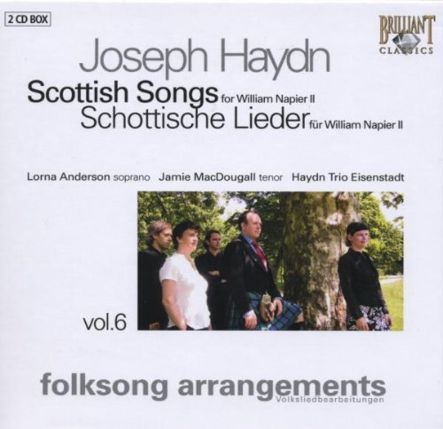 Scottish Songs Vol. 6 (Anderson, Haydn Trio Eisenstadt)