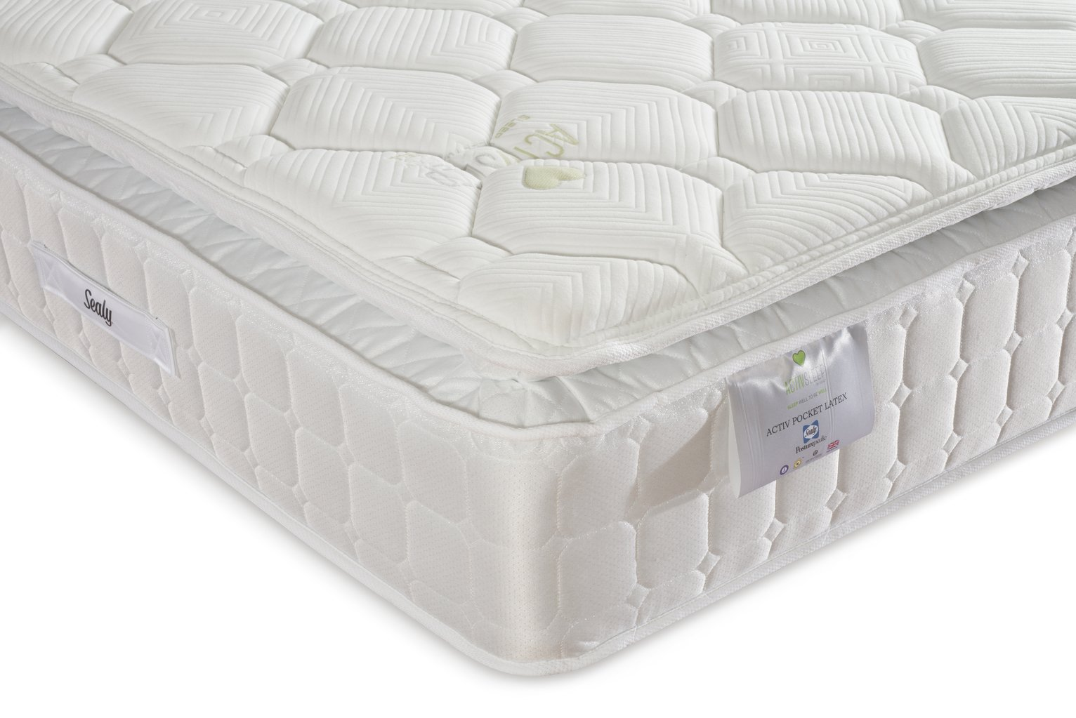 Sealy Posturepedic 1400 Latex Single Mattress at Argos from Sealy