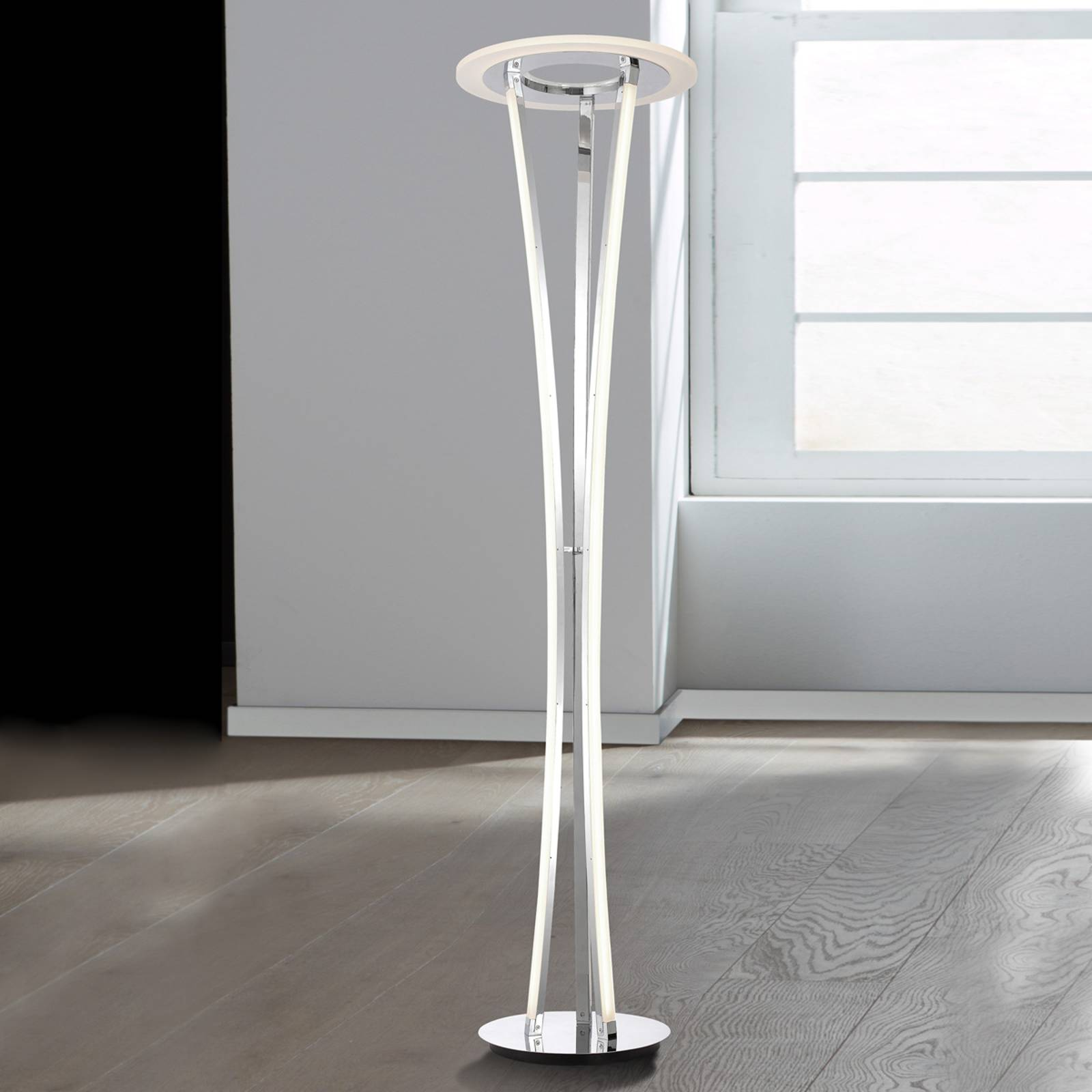 Seattle - beautifully-shaped LED floor lamp from WOFI