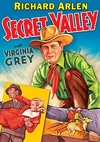 Secret Valley (DVD-R) (1937) (All Regions) (NTSC) (US Import) [Region 1] from Alpha Video