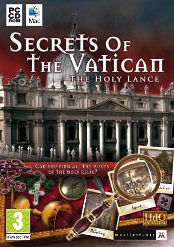 Secrets Of The Vatican: The Holy Lance (PC/Mac CD) from Mastertronic