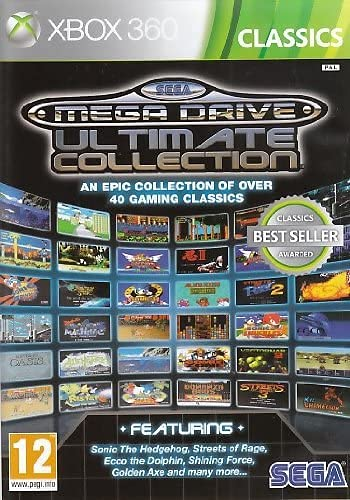 Sega Mega Drive Ultimate Collection Classics(Xbox 360) from Games Outlet